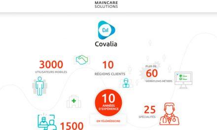 Déploiement de la plateforme de télémédecine COVALIA en Bourgogne